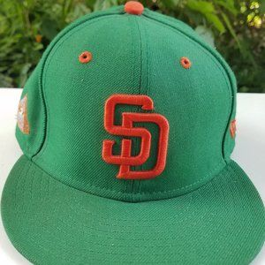 SD Padres New Era Fitted Cap